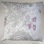 Cushion Cover in Laura Ashley Baroque Floral Purple 16""